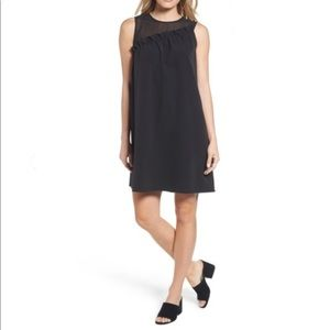 From Nordstrom, By Halogen, LBD Ruffle Shift Dress